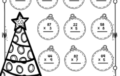 Christmas Themed Math Worksheets