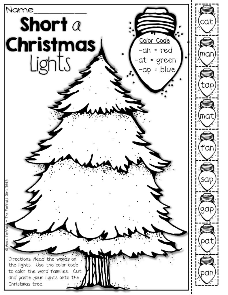 Christmas No Prep Packet (Kindergarten) | Christmas