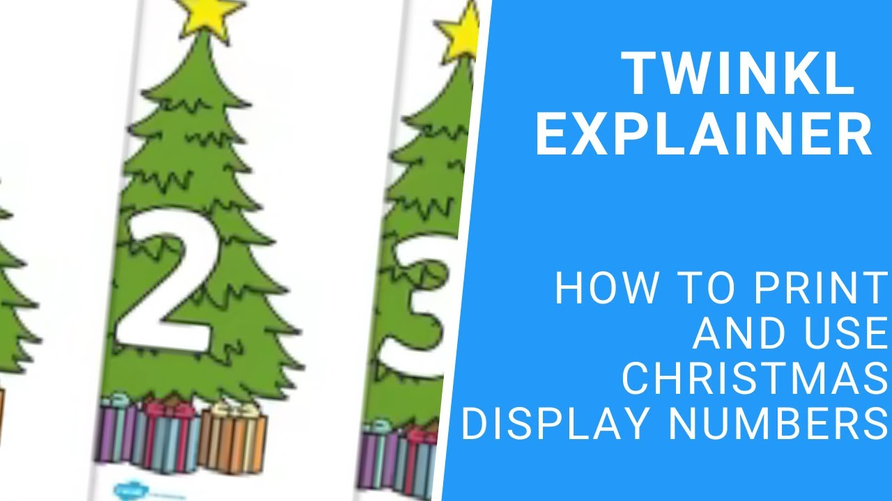 Christmas Numbers - Designs And Decorations