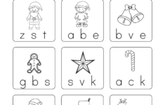 Free Christmas Themed Worksheets