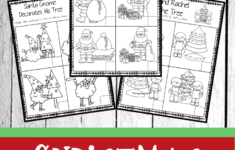 Christmas Sequencing Worksheets