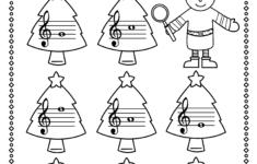 Christmas Piano Theory Worksheets