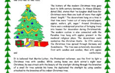 Free Christmas Reading Worksheets