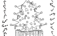 Free Christmas Counting Worksheets