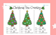 Christmas Shape Worksheets Ks1