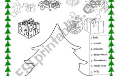 Christmas Tree Making – Esl Worksheetvuthithanhtam