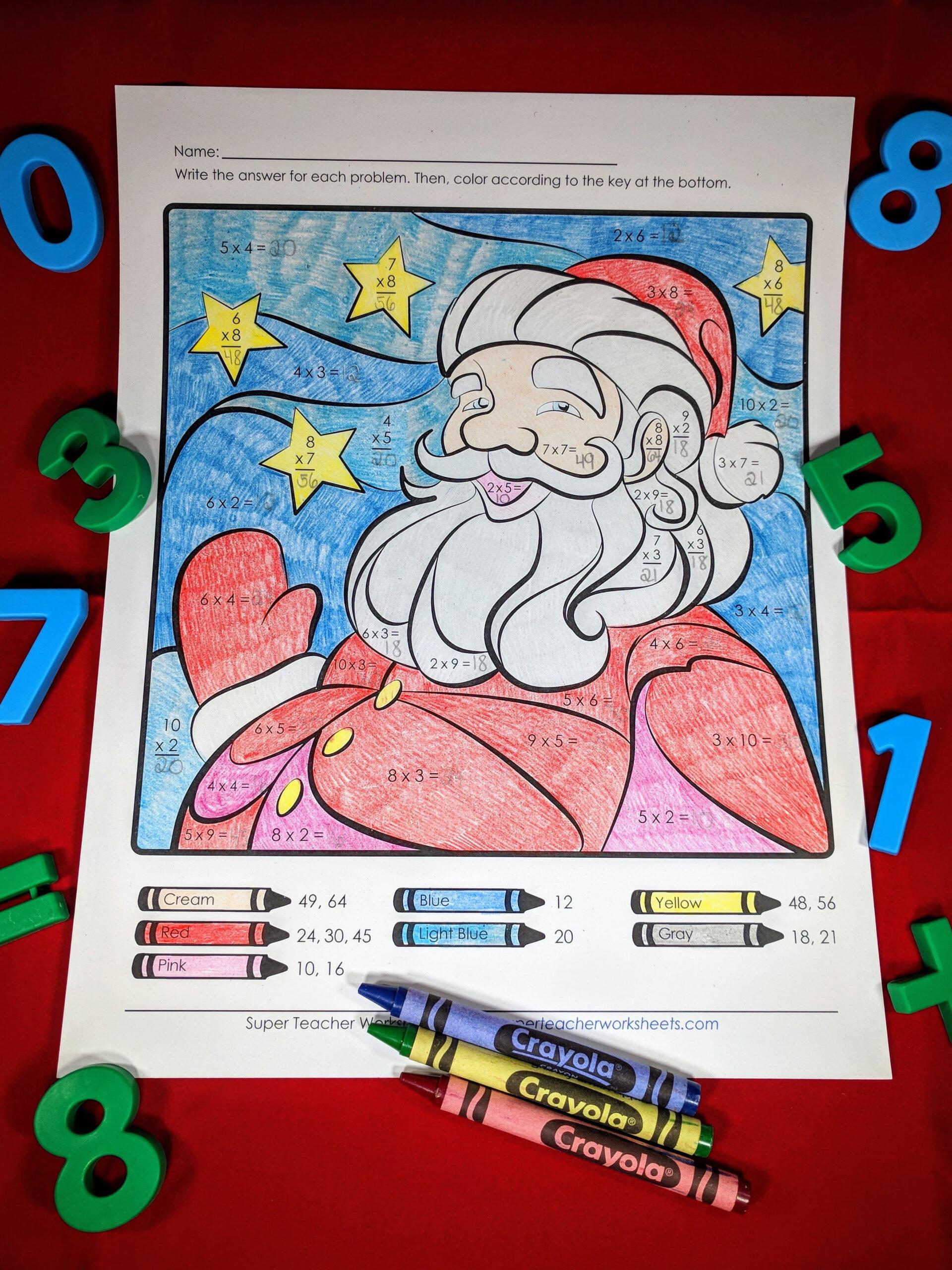 Christmas Worksheets & Activities