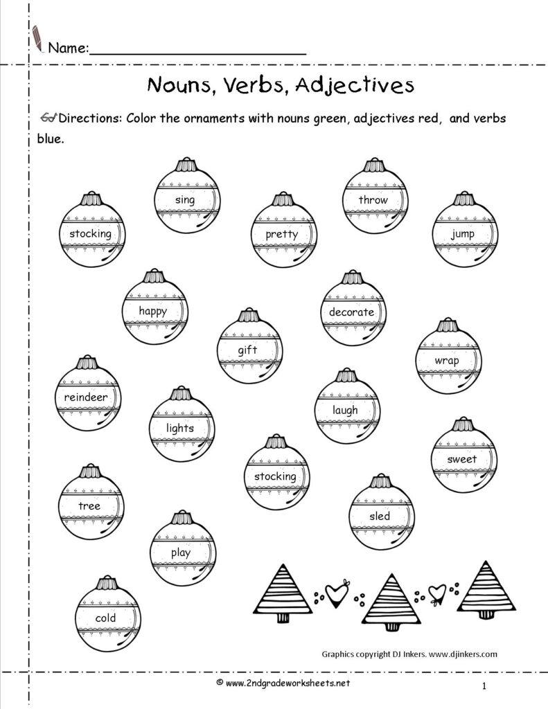 Christmas Worksheets And Printouts Free English