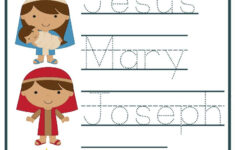 Christmas Bible Story Worksheets
