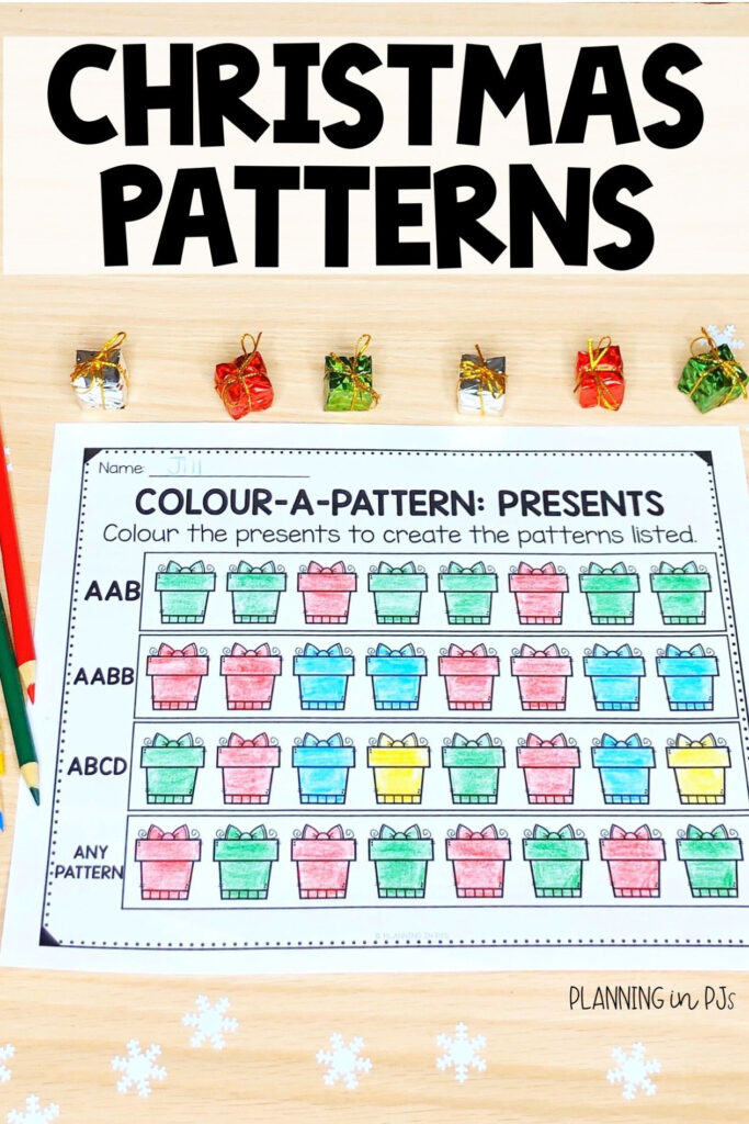 Color A Pattern: Christmas (Colour A Pattern) | Christmas