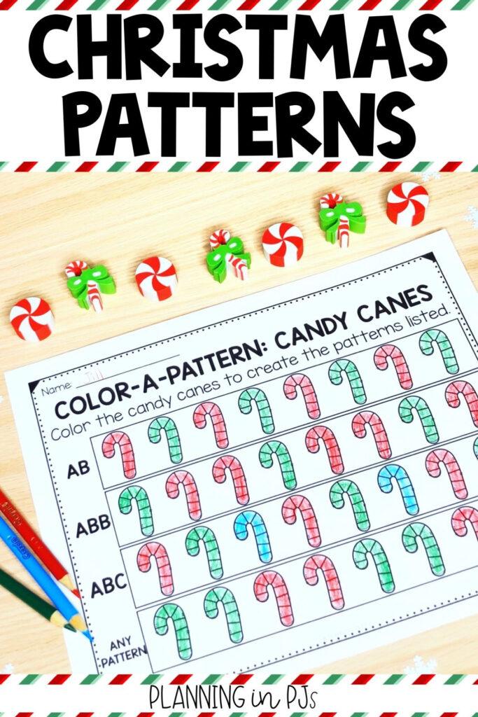Color A Pattern: Christmas (Colour A Pattern) | Pattern
