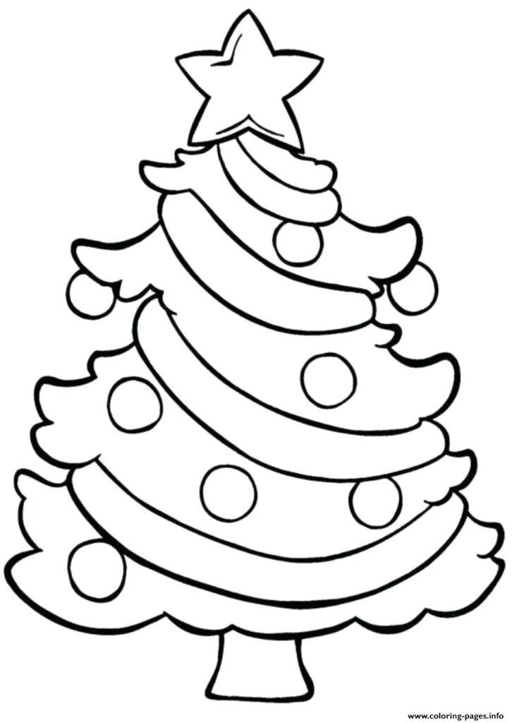 Coloring Book Christmas Sheets For Preschool Free Printable