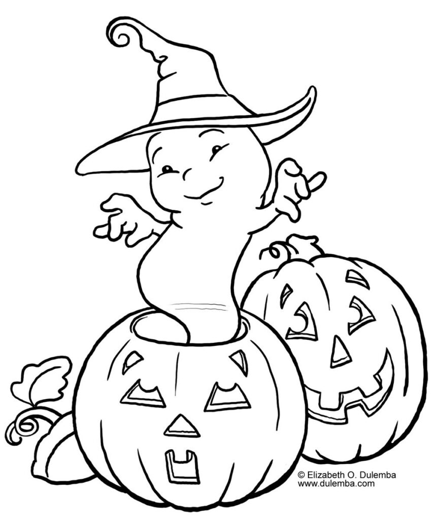 Coloring Pages Halloween For Coloring Page    Halloween