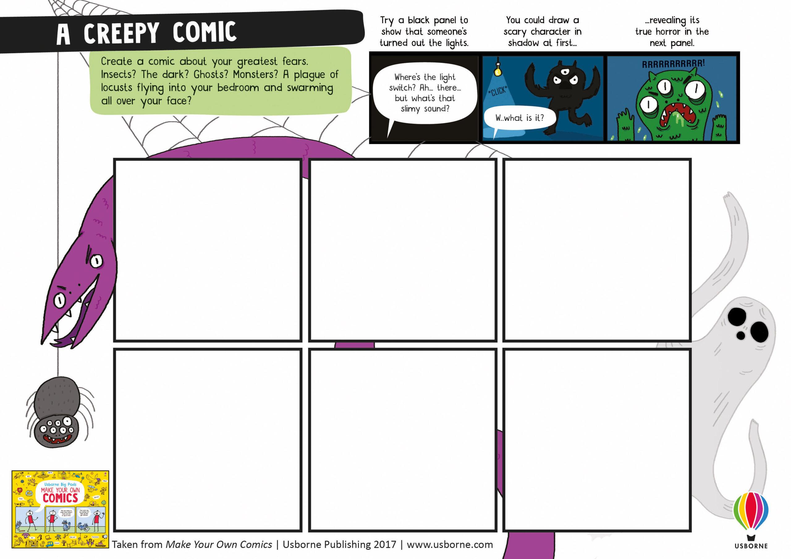Comics Worksheets – Comics Club
