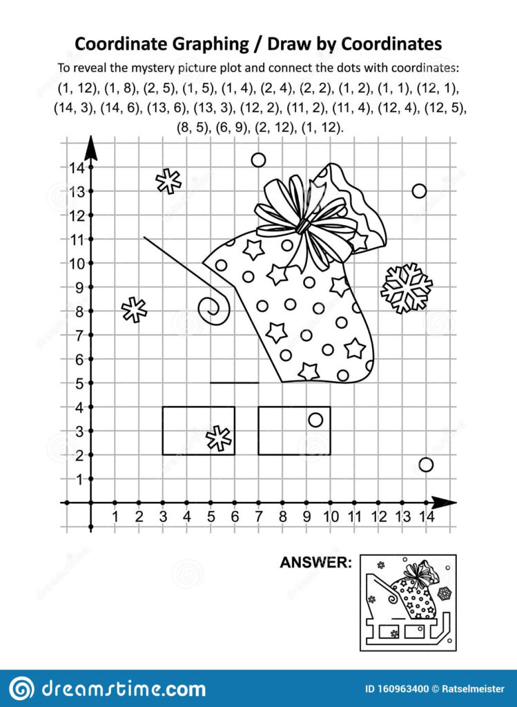Coordinate Graphing, Or Drawcoordinates, Math Worksheet