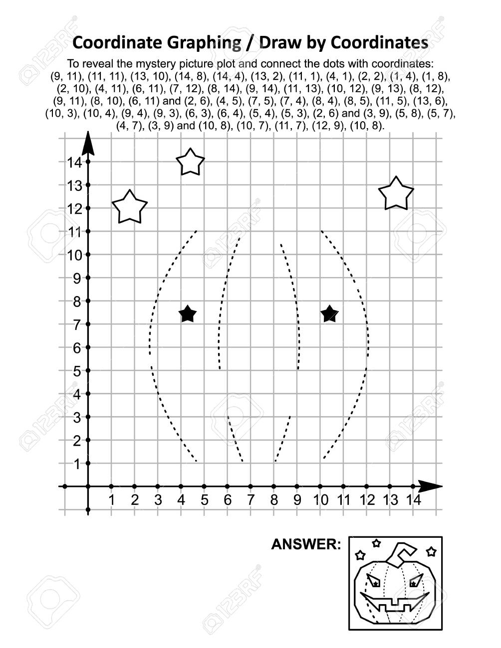 Coordinate Graphing, Or Drawcoordinates, Math Worksheet With..