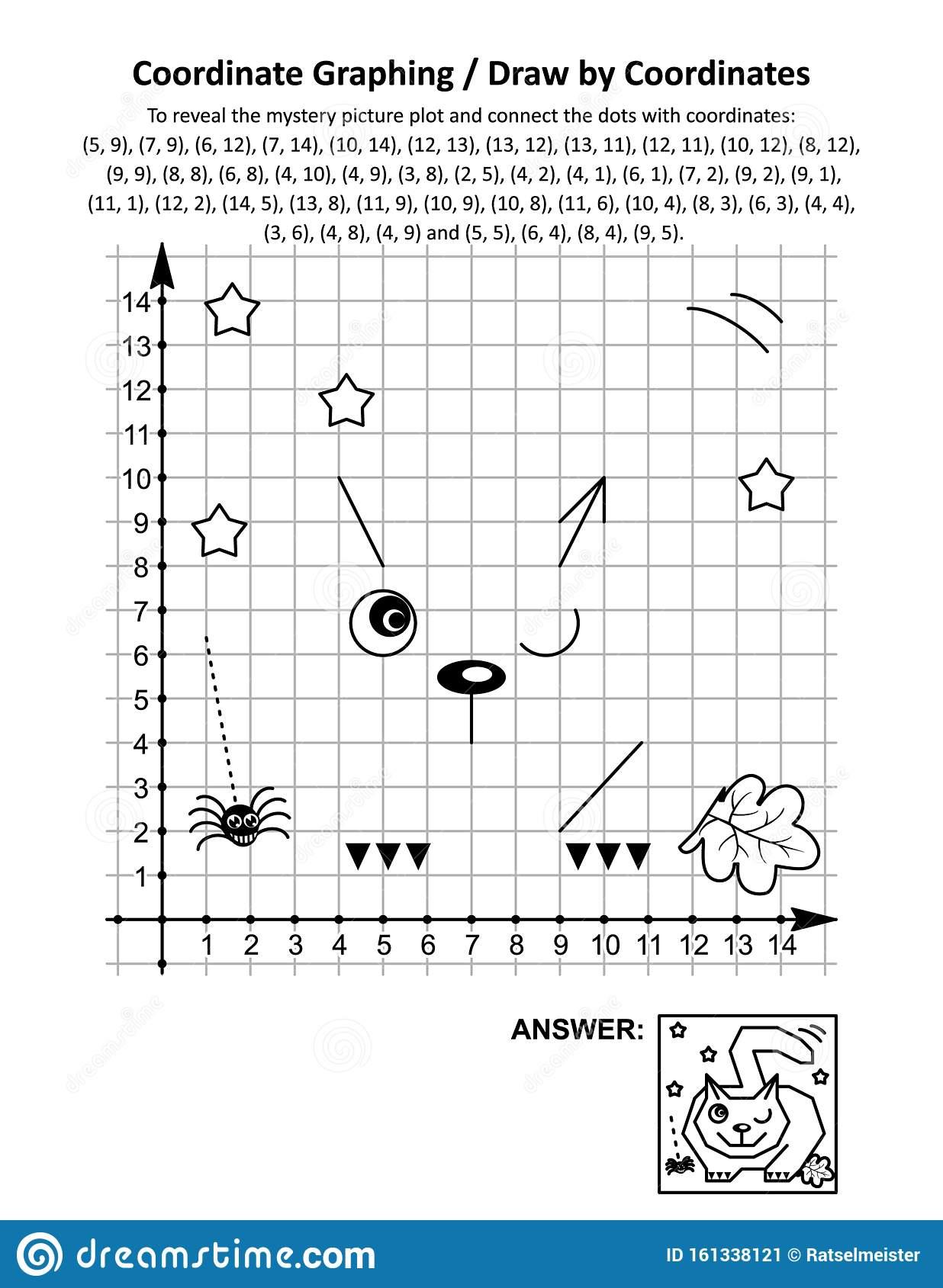 Coordinate Graphing Or Drawcoordinates Math Worksheet