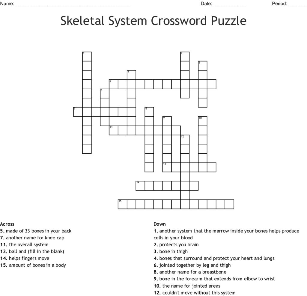 Crossword Worksheet Creator | Printable Worksheets And
