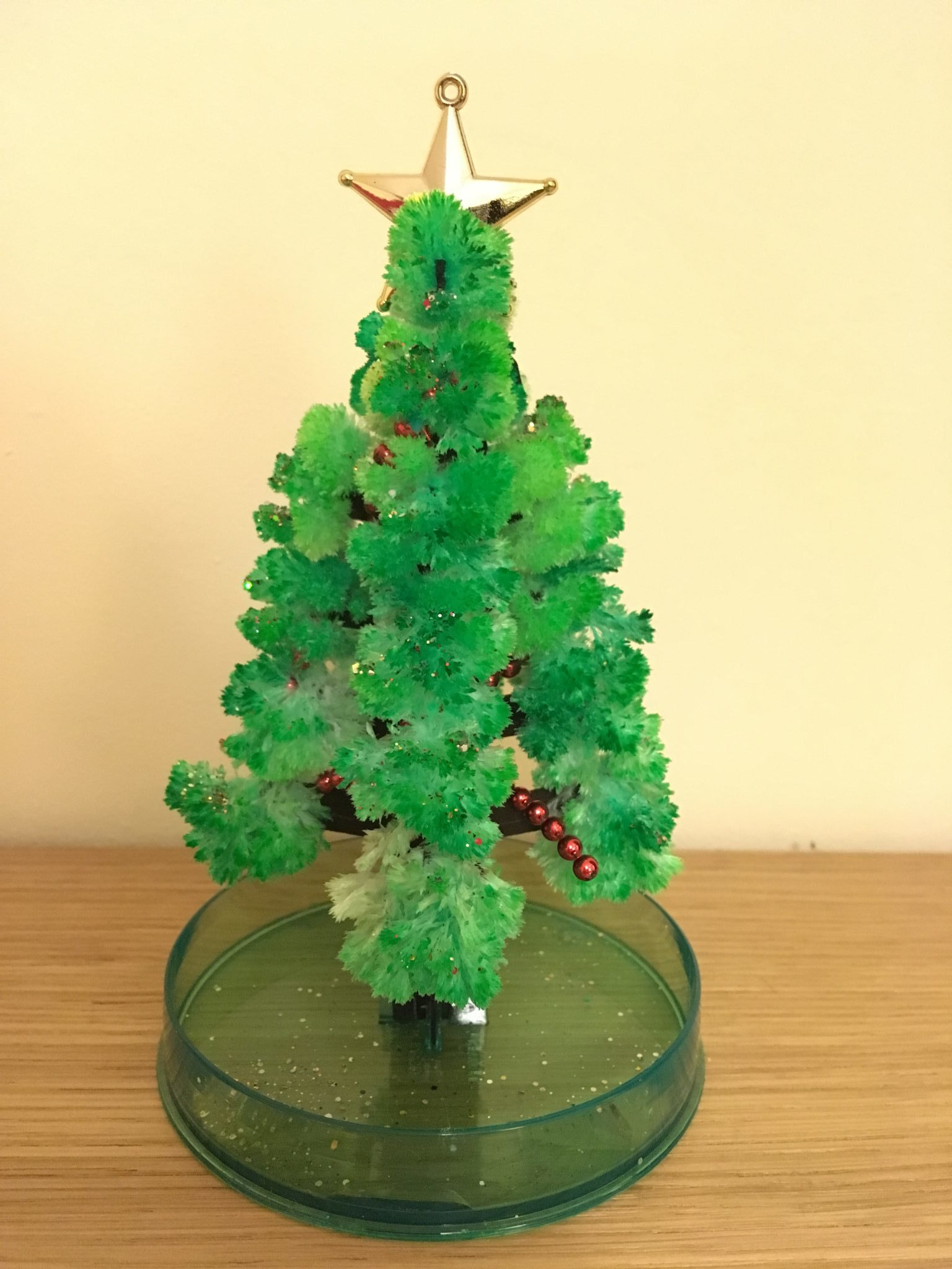 Crystal Growing Christmas Tree Chemistry - Easternblot
