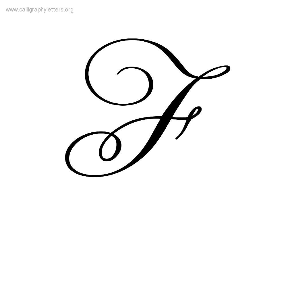 Cursive F | Tattoo Lettering, Cursive Tattoos, Tattoo Designs