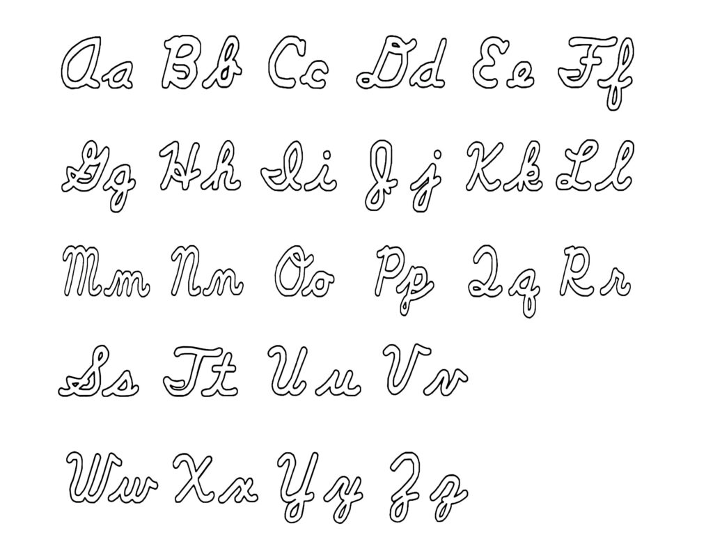 Cursive Symbols Copy Paste