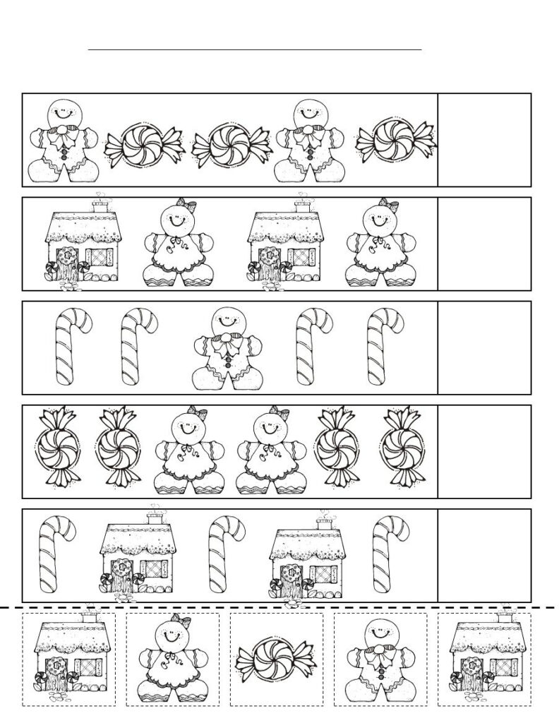 Cute Pattern Activity (With Images) | Christmas Kindergarten