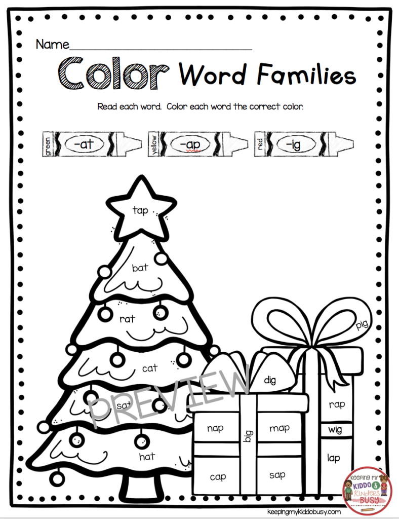 December Math And Literacy Pack   Freebies! — Keeping My