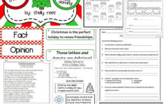 Christmas Reading Worksheets For 5th Grade