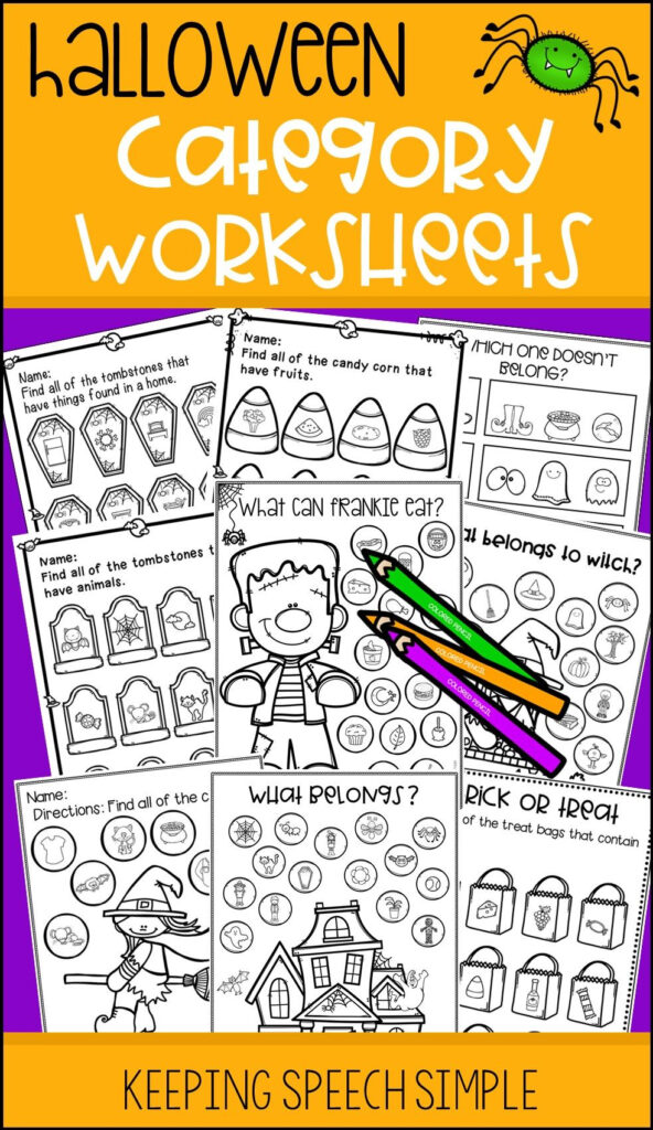 Develop Categorization And Vocabulary With These Print And