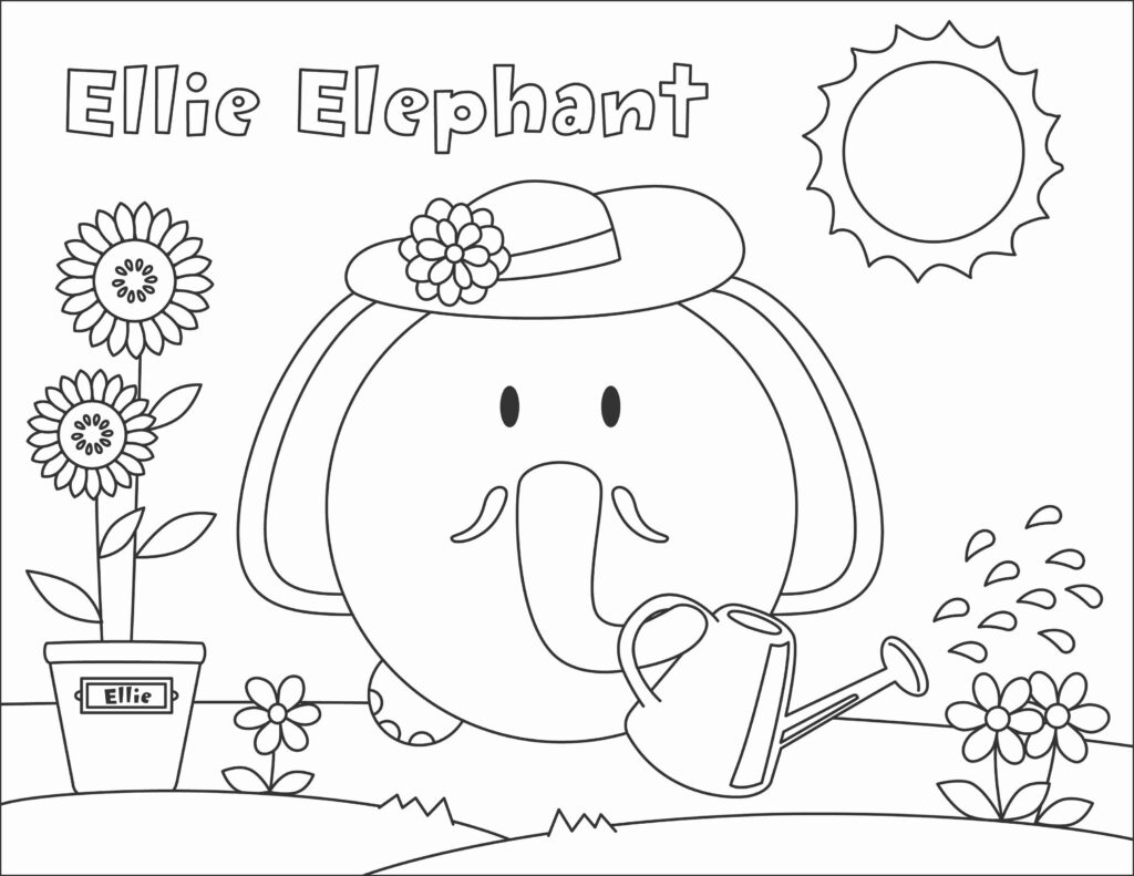 Dltk Coloring For 2019 | K5 Worksheets In 2020 | Zoo Phonics