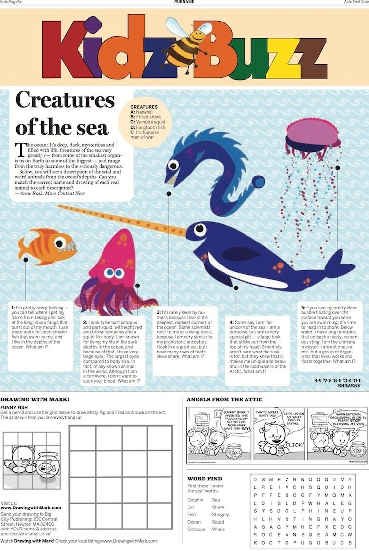 Do You Know All The Different Kinds Of Creatures That Live