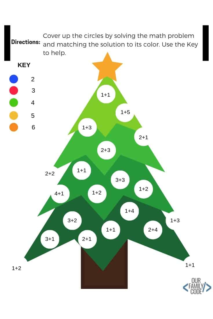 Download 12 Days Of Free Christmas Worksheets For Kids!
