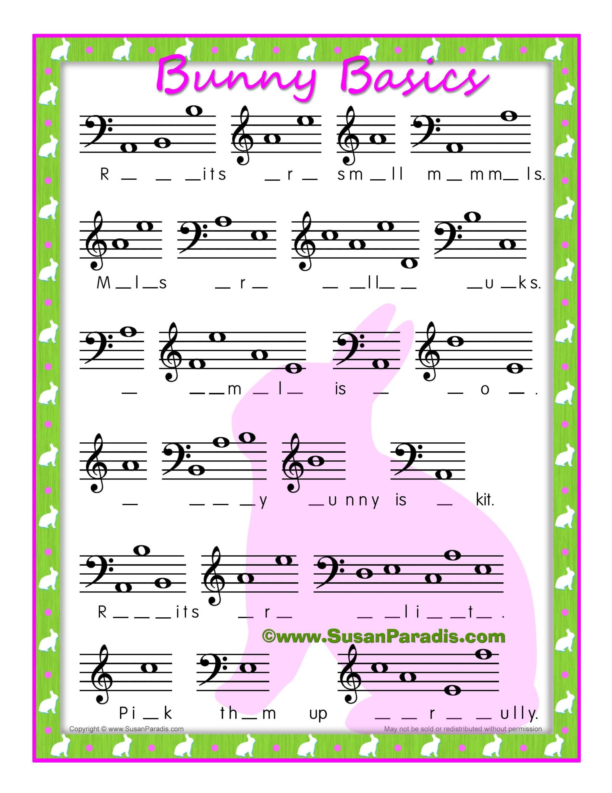 Easter   Susan Paradis Piano Teaching Resourcessusan Paradis