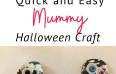 Easy Paper Mummy Craft For Kids – The Keele Deal In 2020