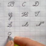Ecrire L'Alphabet Français : Majuscule En Maternelle Cp Ce1 Ce2
