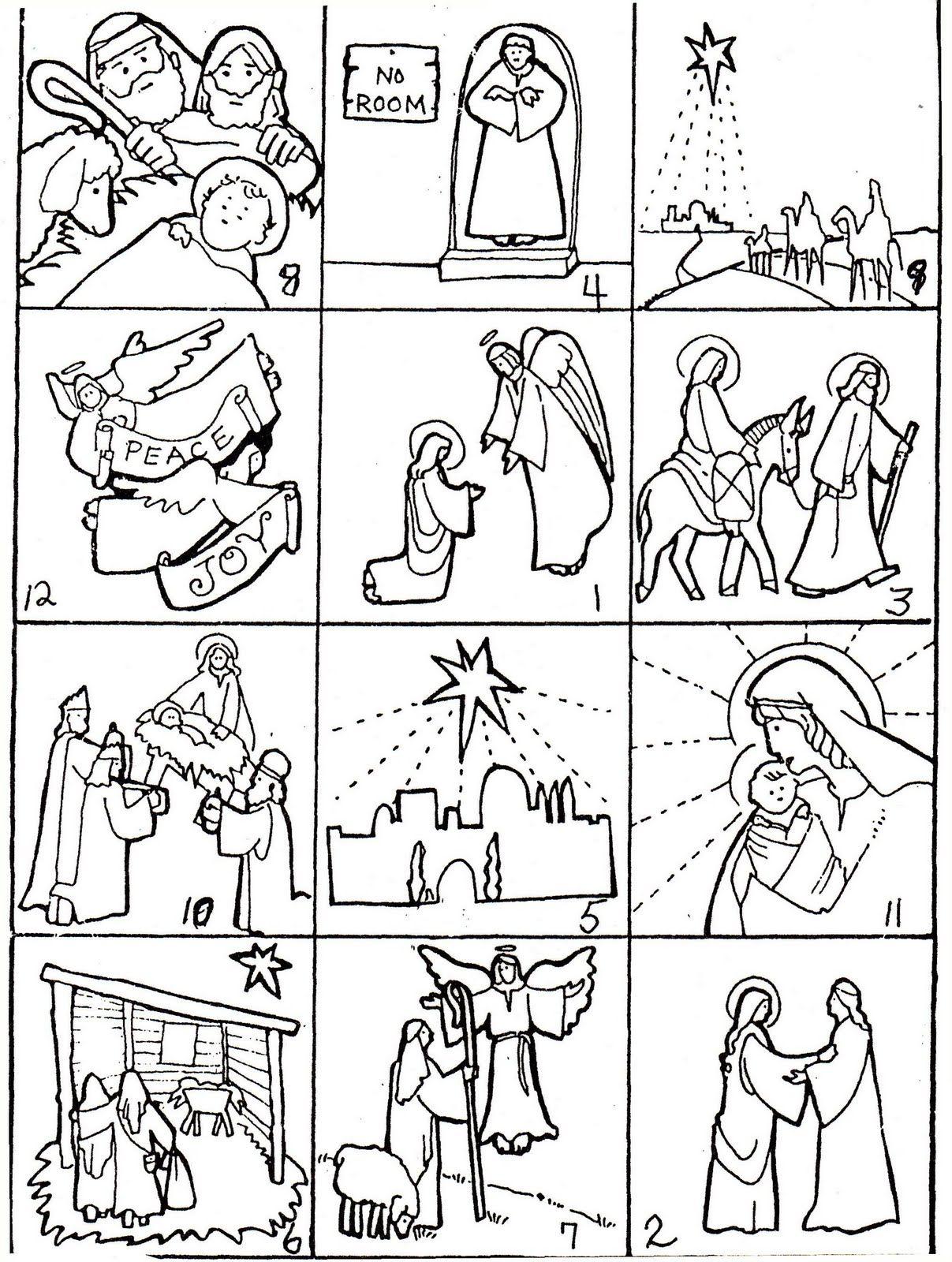 Elementary School Enrichment Activities: Christmas Story