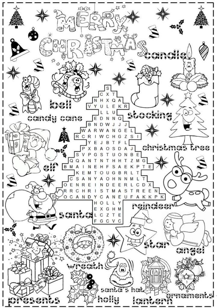 English Esl Christmas Worksheets   Most Downloaded (1004