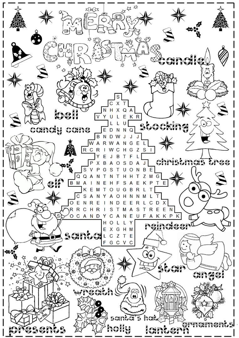 English Esl Christmas Worksheets - Most Downloaded (1004