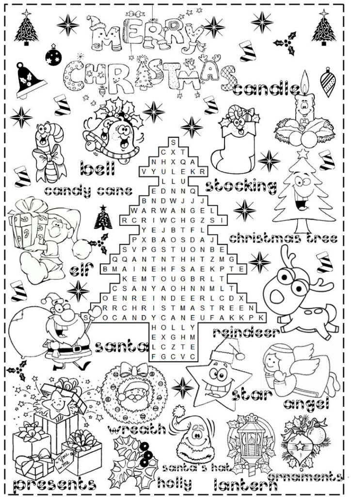 English Esl Christmas Worksheets Most Downloaded Results Fun