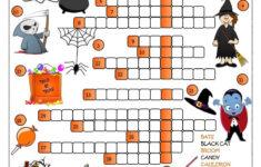 Halloween Vocabulary Worksheet Pdf