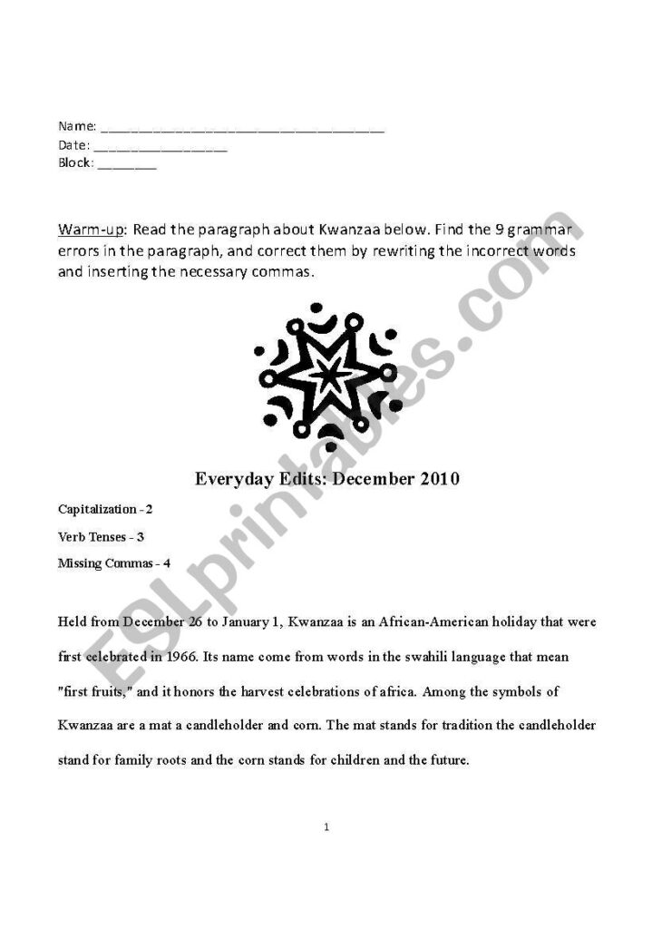 English Worksheets: Christmas In Mexico