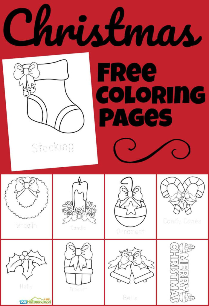 ? Free Christmas Coloring Pages