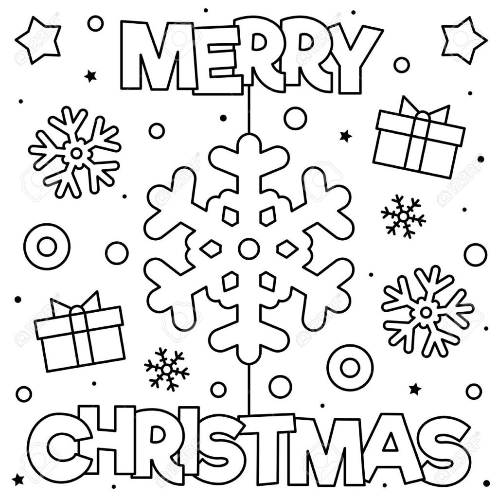 Fabulous Printable Christmas Coloring Pages Extraordinary