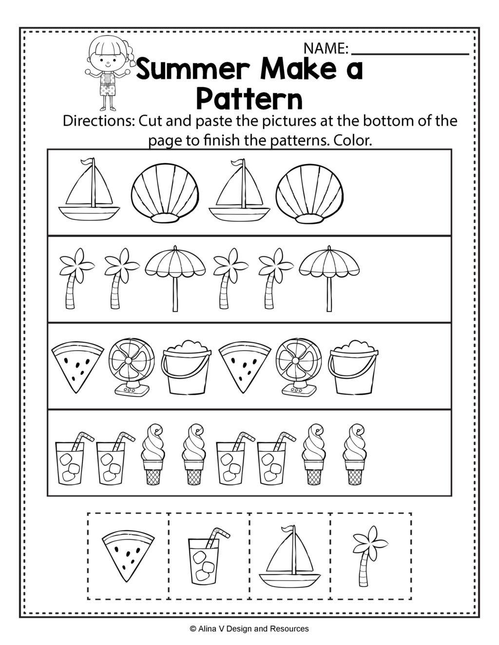 Fantastic Science Worksheets For Preschool Free Printables