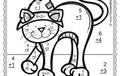 Fun Free Halloween Coloring Math Worksheets For Second Grade