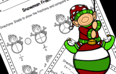 Free 3Rd Grade Christmas Math Worksheets – Comparing