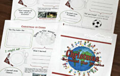 Free Christmas Around The World Worksheets For Kids + Activities