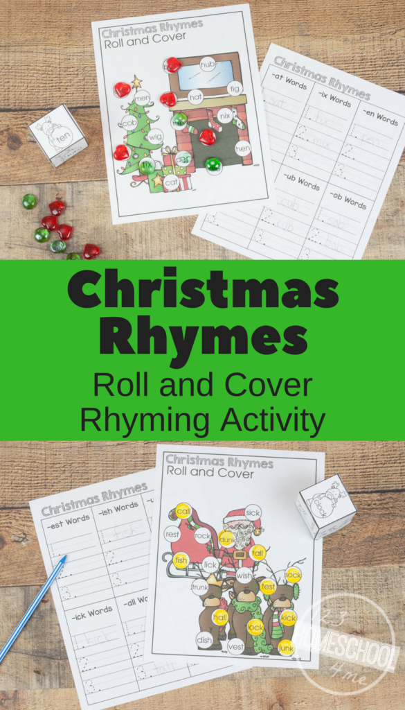 Free Christmas Rhymes Activity | Rhyming Activities