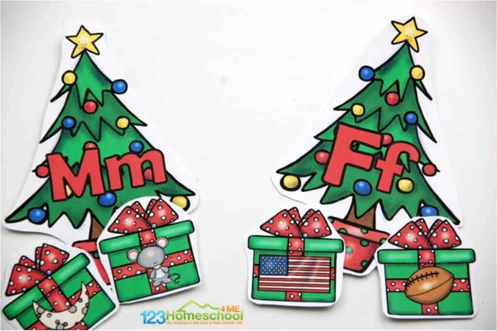 Free Christmas Tree Abc Game