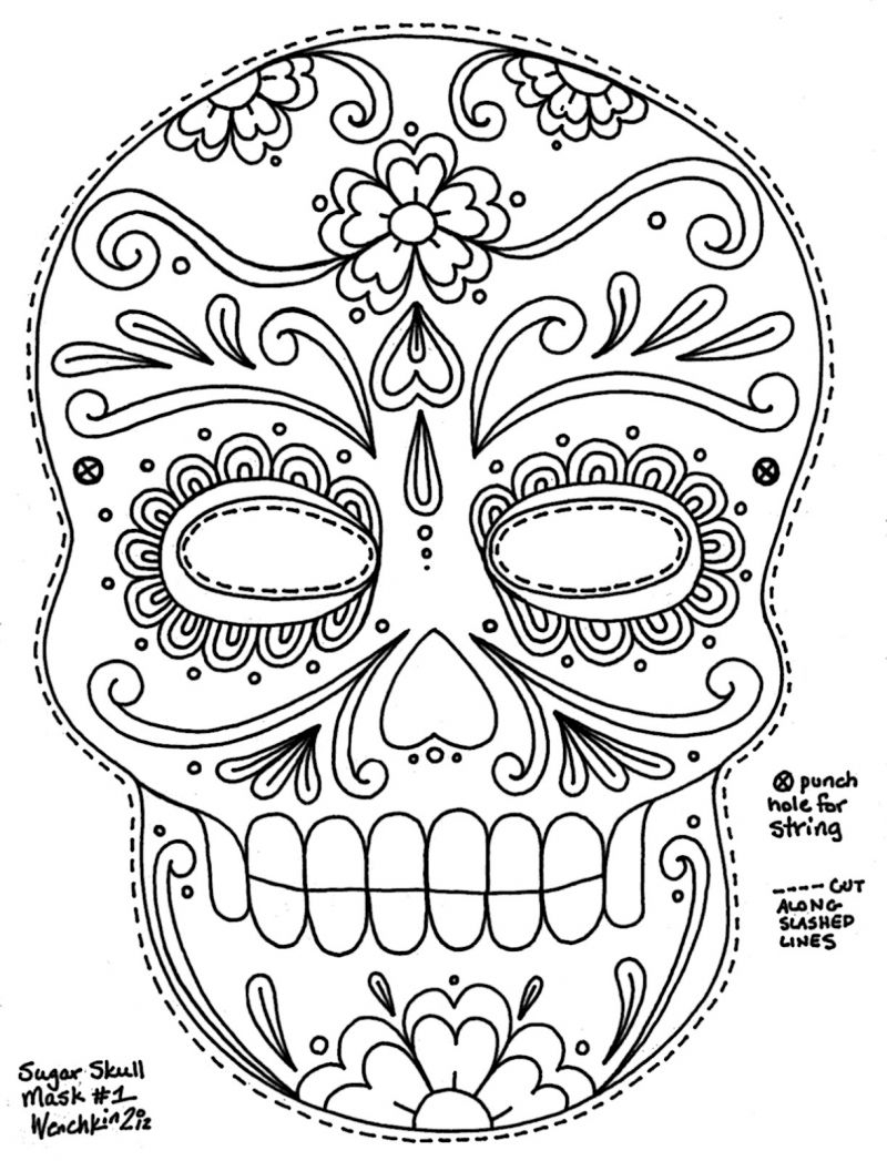 Free Coloring Pages Dia Los Muertos Barbie Day Of The Movie